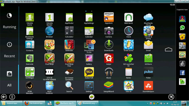 Поиск Puffin web browser в BlueStacks