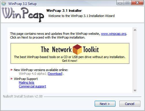 winpcap что это за программа