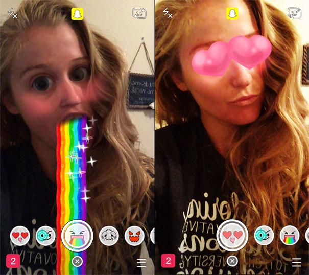Аналог Msqrd - Lenses Snapchat