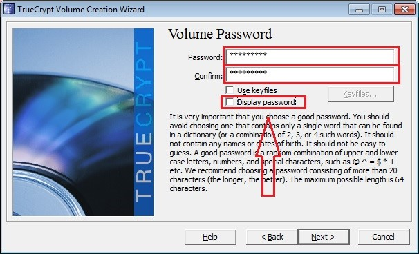 Display Password