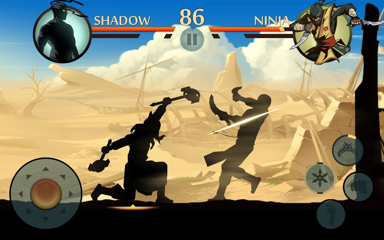 Shadow Fight 2 скрин